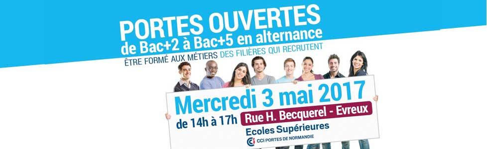 Portes ouvertes – Ecoles Supérieures CCI Portes de Normandie