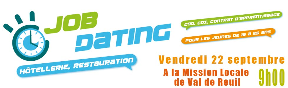 Job Dating / Hôtellerie & Restauration – 22 septembre