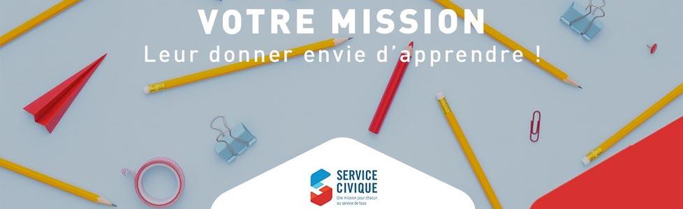 Missions de Service civique!
