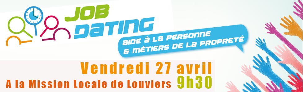 Job dating services a la personne