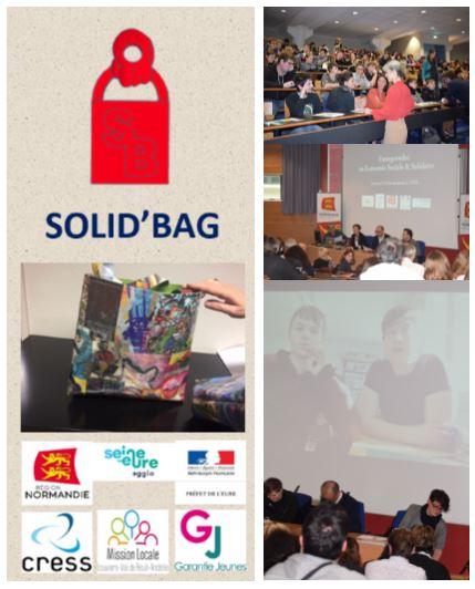 Solid'Bag : présentation officielle à Rouen