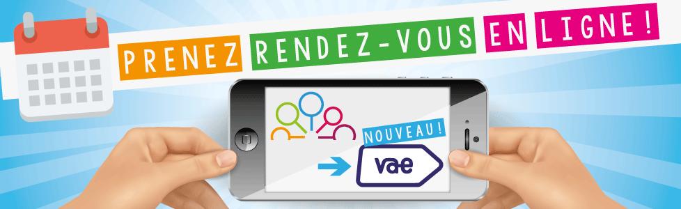 NOUVEAU : vous pouvez prendre RDV en ligne avec un conseiller !
